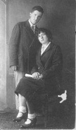 Сестра бабушки Разинькова (Бохонская) Любовь Устиновна с мужем Бохонским Федором Демьяновичем.