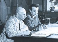 Михаил Гуревич (слева) и Артём Микоян